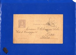 ##(DAN197)-Postal History-Portugal 1896-20 Reis Post Card  From Coimbra  To Pisa)-Italy - Lettere