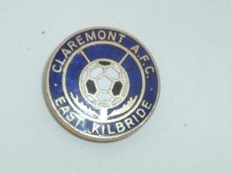 BROCHE CLUB DE FOOTBALL ECOSSAIS, CLAREMONT AFC - Football