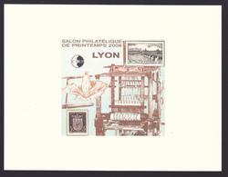EP CNEP N° 50b ** MNH, EPREUVE DE LUXE - Salon Philatélique De Printemps à Lyon 2008 - CNEP