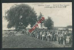 Grand-Ville. (Oreye) N.D De Bon Secours. Pélerinage Du 19 Août 1915. Carte Très Animée. Voir Dos - Oreye
