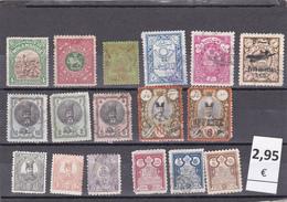 Irán  -  Lote  17  Sellos Diferentes  -  6/3459 - Iran