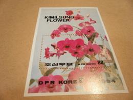 Miniature Sheet 1984 Kimilsung Flower - Korea, North