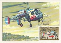 Postcard RA010473 - Helicopter (Chopper) Soviet Union SSSR USSR CCCP KA-26 MAXIMUM CARTE - Elicotteri