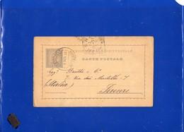##(DAN197)-Postal History-Portugal 1894-20 Reis Post Card  From Mattozinhos  To Firenze-Italy - Lettere