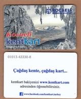 AC - MULTIPLE RIDE BUS PLASTIC CARD KARTEPE KOCAELI, TURKEY PUBLIC TRANSPORTATION - Other Collections