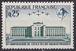 Timbre Neuf ** N° 1463(Yvert) France 1965 - Aviation, Ecole De L'Air à Salon-de-Provence - Unused Stamps