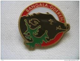 """Pin's Des """"Bangala"""" De La Société De Gymnastique Sainte Marie D'ODEREN.  Sanglier - Ginnastica"""
