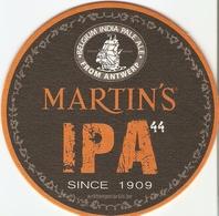 Sous-bock - Martin's IPA 44 - Belgium India Pale Ale From Antwerp - Bierdeckel