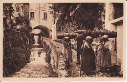 26526Amalfi, Valle Dei Mulini Portatrici Di Vino (see Corners, Down Little Tear) - Salerno