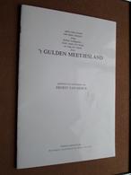 't GULDEN MEETJESLAND - Gedichten En Tekeningen Van ERNEST VAN HERCK ( Druk 2de Brochure Van Herck ERTVELDE ) ! - Poésie