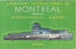 Postcard RA010500 - Airplane (Avion / Flugzeug) Canada Quebec Montreal AIRPORT - Vliegvelden