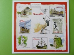PAP - Carte Postale Pré-timbrée - Timbre International Mannequin Pis - Bruxelles Capitale Européenne - Série Capitales - Documents Of Postal Services