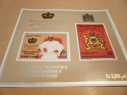 Miniature Sheet 1986 25th Anniversary - Morocco (1956-...)