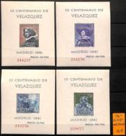 [821039]TB//**/Mnh-Espagne 1961 - BL21/24,  Célébrité - 1931-Aujourd'hui: II. République - ....Juan Carlos I