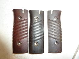 Plaquettes Bakelite De Baionnette Mauser 84/98 3e Type - Armes Blanches