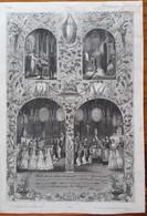 DIPLOME COMMUNION-& CONFIRMATION 1845 Et 1856- EGLISES ST MARTIN Et ST MAMMES De LANGRES - LEJEUNE Et GENY-GROS - Religión & Esoterismo