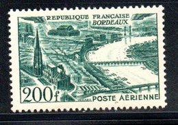 Poste Aérienne / N 25 / 200 Francs Vert  / NEUF** / Côte 18.5€ - Airmail