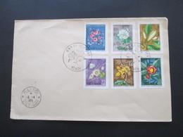 Vietnam 1964 Nord Vietnam Nr. 301 - 306 FDC Blüten / Blumen - Vietnam