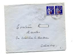 Lettre Cachet Rural ? Charente Sur Paix Surchargé - Marcophilie (Lettres)