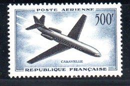 Poste Aérienne / N 36 / 500 Francs Bleu / NEUF** / Côte 30 € - 1927-1959 Mint/hinged