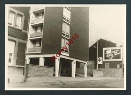 PHOTO Prise Le 21.9.1965 - Grivegnée, Rue Bonne Femme. Panneau Publicitaire - Beyne-Heusay