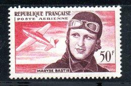 Poste Aérienne / N 34 / 50 Francs Rose / NEUF** / Côte 8 € - Luftpost
