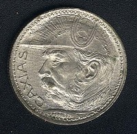 Brasilien, 2000 Reis 1935, Caxias, Silber, XF - Brésil