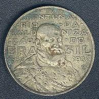 Brasilien, 2000 Reis 1932, 400-Jahr-Feier, Silber - Brésil