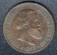 Brasilien, 20 Reis 1869 - Brasilien