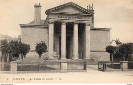 D29  QUIMPER  Le Palais De Justice  ..... - Quimper