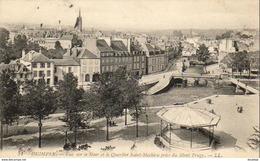 D29  QUIMPER  Vue Sur Le Steir Et Le Quartier Saint- Mathieu Prise Du Mont Frugy  ..... - Quimper