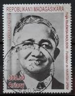 MADAGASCAR 2008 The 95th Anniversary Of The Birth Of Régis Rajemisa-Raolison, 1913-1990. USADO - USED. - Madagascar (1960-...)