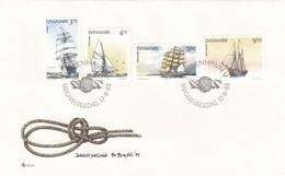 GOOD DENMARK FDC 1993 - Ships - FDC