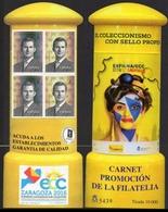 ESPAÑA SPAIN ESPAGNE SPANIEN CARNÉ CARNET PROMOCIÓN DE LA FILATELIA ECC 2016 ZARAGOZA EDIFIL 5078CP TIRADA 10000 - 1931-Hoy: 2ª República - ... Juan Carlos I