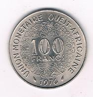100 FRANCS 1976  AFRIKA -QUEST /4612// - Autres – Afrique