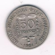 50 FRANCS 1981  AFRIKA -QUEST /4613// - Autres – Afrique