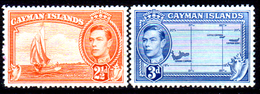 Cayman-047 - Emissione 1947 (+) LH - Senza Difetti Occulti. - Cayman (Isole)
