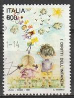 Italia 1991 - Lire 600 - I Diritti Dell'infanzia - 6. 1946-.. Repubblica