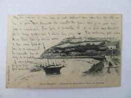 Saint-Brieux - Chemin De Halage Et Tour De Cesson - Carte Précurseur Circulée En 1901 - Saint-Brieuc