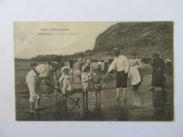 Rothéneuf N°615 - La Pêche Aux Lançons - Carte Animée, Circulée En 1906 - Rotheneuf