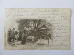 Saint-Brieuc - Jour De Foire à Saint-Brieuc - Carte Précurseur Animée, Circulée En 1900 - Saint-Brieuc
