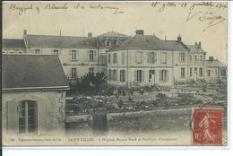 Saint-Gilles-L'Hopital, Façade Nord Et Pavillons D'isolement - Saint Gilles Croix De Vie