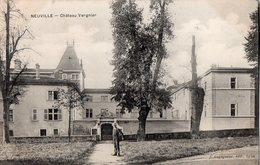 -NEUVILLE - Château Vergnier - - Neuville Sur Saone
