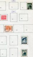 13197 CUBA Collection Vendue Par Page N° 4446 447, 451, 456, 459 °/ */(*) 1955- 56  B/TB - Cuba