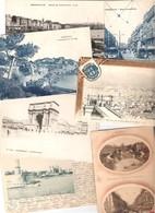 13 Bouches Du Rhône MARSEILLE Lot 300 Cartes Postales Anciennes Période 1900/1930 - Cartoline