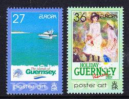 Europa Cept 2003 Guernsey 2v ** Mnh (43043B) - Europa-CEPT
