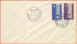 TURCHIA - Turkey - 1958 - Europa CEPT - FDC - Europa-CEPT