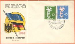 GERMANIA - GERMANY - Deutschland - ALLEMAGNE - 1958 - Europa Cept - Bonn - FDC - Europa-CEPT
