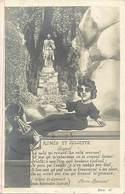 - Ref- B762- Spectacle - Guignol Du Gymnase Pierre Rousset - Romeo Et Juliette -carte Bon Etat  - - Spectacle