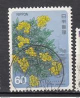 ##4, Japon, Japan,1985, Sc 1576, Draba, Fleur, Flower - 1926-89 Emperor Hirohito (Showa Era)